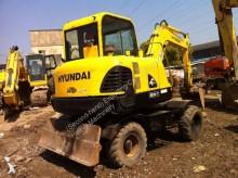 gravemaskine på hjul Hyundai