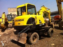 excavadora Hyundai Used HYUNDAI 60W-7 Mini Wheel Excavator
