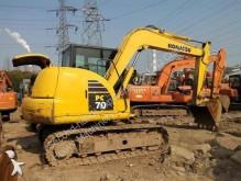 Komatsu Used Mini Tracked Excavator Komatsu PC70-8