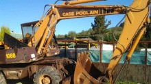 Case 1088 Retro ruedas used wheel excavator