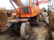 excavadora excavadora de ruedas usada