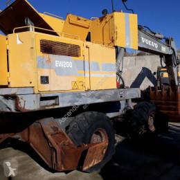 Excavadora Volvo EW200 excavadora de ruedas usada