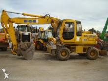 Excavadora Fiat-Hitachi EX 165 W excavadora de ruedas usada