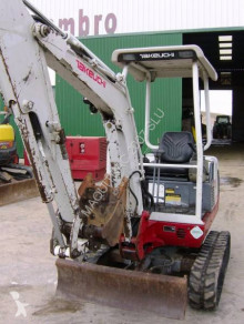 Used mini excavator Takeuchi TB016