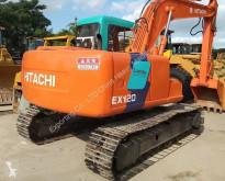 Excavadora Hitachi EX120 Used EX60 EX120 EX200 ZX200 ZX240 excavadora de cadenas usada