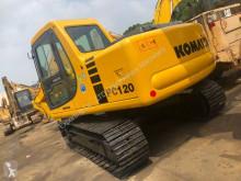 Excavadora Komatsu PC120 PC55 PC78 PC60 PC120 PC128 PC138 PC200-7 PC220 excavadora de cadenas usada