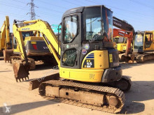 Komatsu track excavator PC55MR-3 Used PC35 PC50 PC55 PC60-7 PC78 PC120 PC220-7