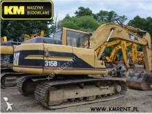 Caterpillar 315BL cat 312 319 318 320 JCB JS210 JS180 JS130 JS145 JS160 JS220 escavadora de lagartas usada