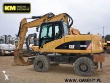 Caterpillar M316 CAT 312 318 315 316 320 319 JCB JS210 JS180 JS130 JS145 JS160 JS220 pelle sur pneus occasion