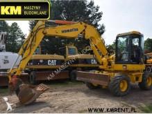 Excavadora Komatsu PW98MR-6 PW140 PW95 PW148 M313 M315 LIEBHERR A308 A311 A312 A316 excavadora de ruedas usada