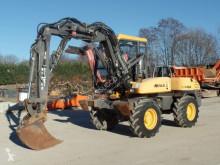 Escavadora Mecalac 10msx escavadora de rodas usada