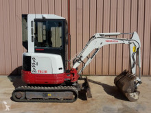 Takeuchi TB 23 TB23R tweedehands mini-graafmachine