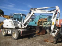 Excavadora Case WX95 excavadora de ruedas usada