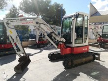 Takeuchi TB138-FR mini-excavator second-hand