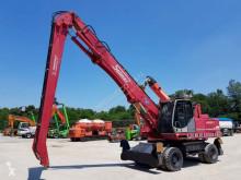 Solmec 313 esc used wheel excavator