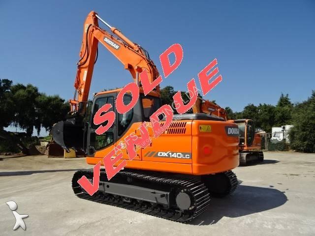 View images Doosan DX140LC excavator
