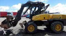 Excavadora Mecalac 12MSX excavadora de ruedas usada