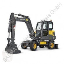Volvo EW 60 E MIETE RENTAL new wheel excavator