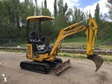 Escavadora Komatsu PC18 MR-2 mini-escavadora usada
