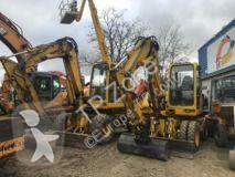 Komatsu pw75 pw 75 escavatore gommato usato