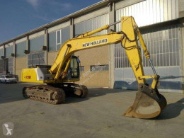 New Holland E175 used track excavator
