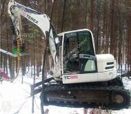 Escavadora escavadora de lagartas Terex TC125