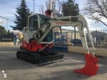 Excavadora nc TB128-FR excavadora de cadenas usada