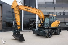 Hyundai HW 160 used wheel excavator