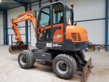 Excavadora Doosan S 55W wheel excavator excavadora de ruedas usada