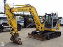 Excavadora New Holland E 80 B MSR-2 excavadora de ruedas usada