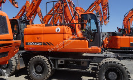 Doosan DX140W-3 used wheel excavator