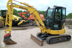 Komatsu PC 35 MR-5 mini-escavadora usada