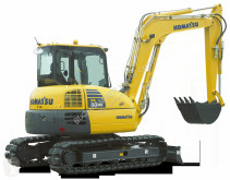 Escavadora Komatsu PC 80 MR-3 mini-escavadora nova