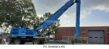 Excavadora excavadora de ruedas Fuchs MHL350Umschlag Bagger Magnetanlage+Greifer
