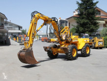 Mecalac 8cxi used wheel excavator