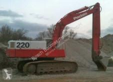 Poclain 220 escavadora de lagartas usada