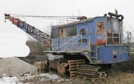 Excavadora excavadora de cables Weserhütte W12