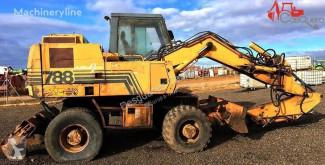 Case 788 gravemaskine på hjul brugt