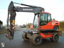 Volvo EW 160 D used wheel excavator