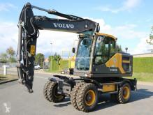 Volvo EW160 EW 160 E pelle sur pneus occasion