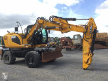 Escavadora escavadora de rodas JCB JS145W