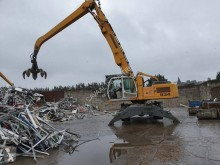 Liebherr 934 C used wheel excavator