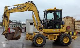 Excavadora Komatsu PW 98MR-6 excavadora de ruedas usada