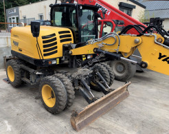 Yanmar B95W used wheel excavator