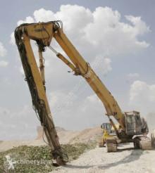 Bourací lopata Komatsu PC400LC – Longfront Abbruchbagger / Demolition excavator