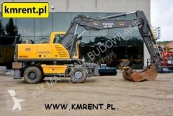 Excavadora Volvo EW180B|KOMATSU VOLVO 160 180 JCB JS175W CAT 315 316 318 excavadora de ruedas usada