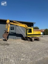 Caterpillar 215B excavator pe şenile second-hand