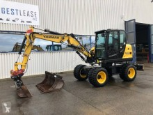 Yanmar B 75 W used wheel excavator