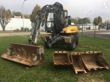 Mecalac 10 MSX used wheel excavator