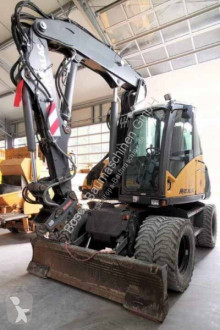 Mecalac 714MWe used wheel excavator